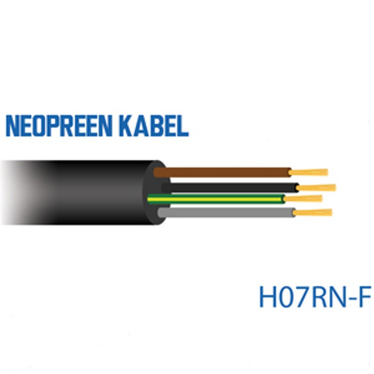 H07RN-F 5x1 5mm² 5g1,5 Rubber Cable by the metre