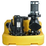 Jung sewage lifting station Compli 400 + non-return valve