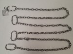 SS316 Lifting chain, 500 kg, 5 metres, certified