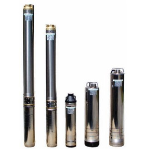 Submersible borehole pump
